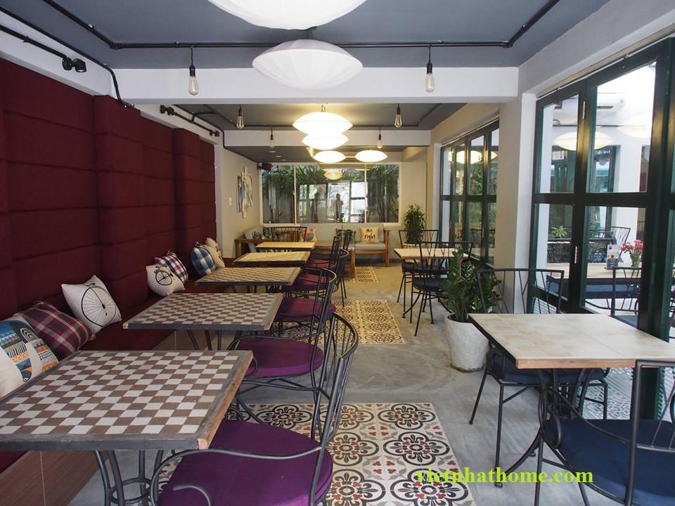Thiết kế thi công quán cà phê 3